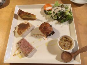 BISTROcote前菜6種